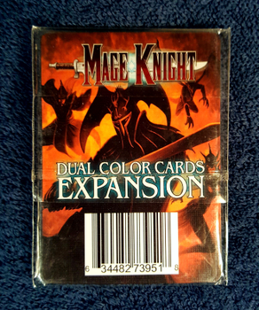Mage Knight Board Game: Dual Color Cards Expansion board game