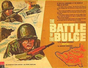 The Battle of the Bulge board game