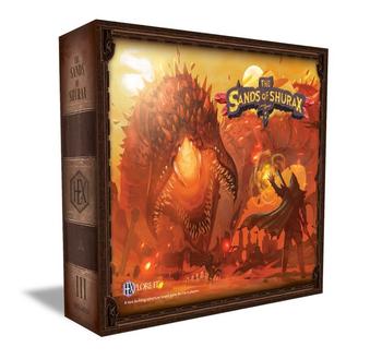 HEXplore It: The Sands of Shurax board game