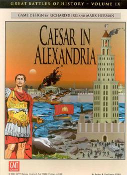 Caesar in Alexandria board game