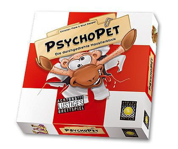 PsychoPet: The Nutty Pet Clinic board game