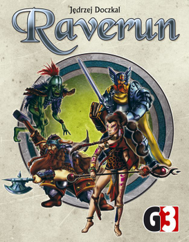 Raverun board game