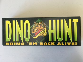 Dino Hunt board game
