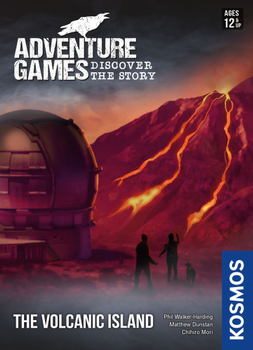 Adventure Games: The Volcanic Island board game