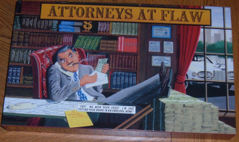 Attorneys at Flaw board game