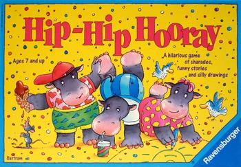 Hip-Hip Hooray board game