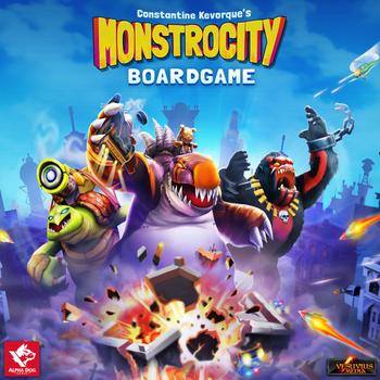 MonstroCity board game