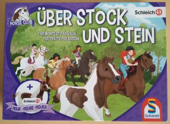 Horse Club: Über Stock und Stein board game