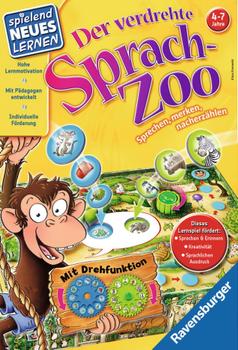 Der verdrehte Sprach-Zoo board game