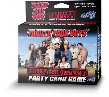 Trailer Park Boys: Supply & Command board game