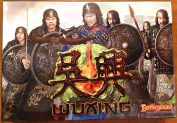 Battleground Fantasy Warfare: Wuxing board game