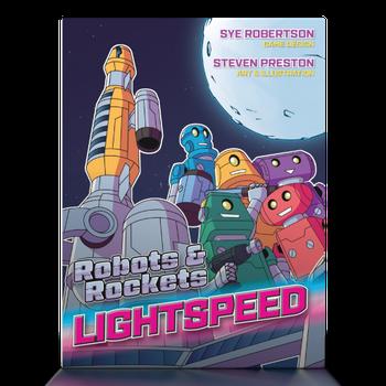 Robots & Rockets: Lightspeed board game
