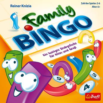 Family Bingo board game