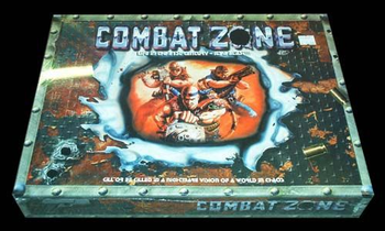 Combat Zone board game