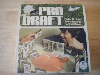 Pro Draft board game