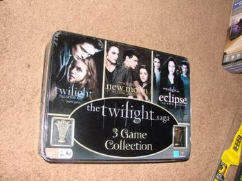 The Twilight Saga 3 Game Collection board game