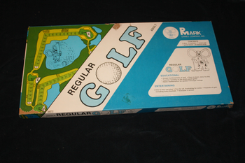 Regular Golf board game