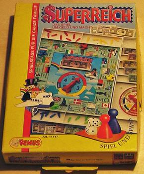 Superreich board game