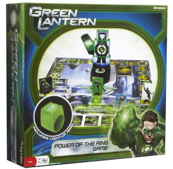Green Lantern Power of the Ring Game board game