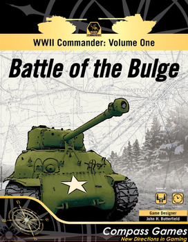 WWII Commander: Volume One - Battle of the Bulge board game