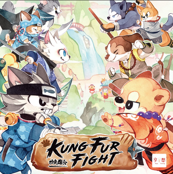 Kung Fur Fight! board game