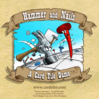 Hammer and Nails: A Card Tile Game board game