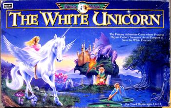 The White Unicorn board game