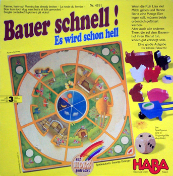 Bauer schnell! Es wird schon hell board game
