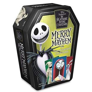 Tim Burton's Nightmare Before Christmas Merry Mayhem board game