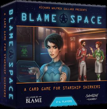 Blame Space board game