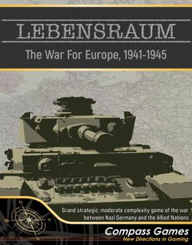 Lebensraum: The War For Europe 1941-1945 board game