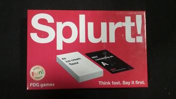 Splurt! board game