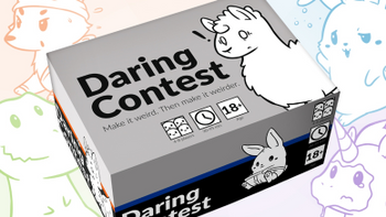 Daring Contest board game