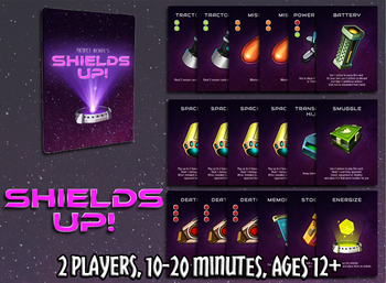 Shields Up! board game