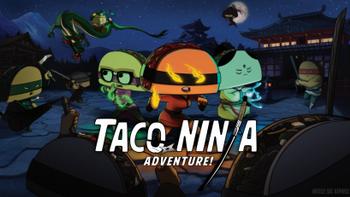 Taco Ninja Adventure board game
