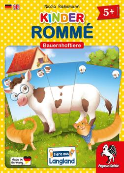 Kinder-Rommé: Bauernhoftiere board game