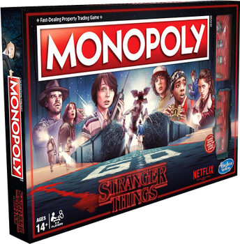 Monopoly: Stranger Things board game