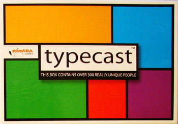 Typecast board game