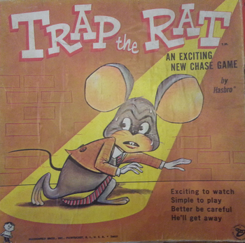 Trap the Rat board game