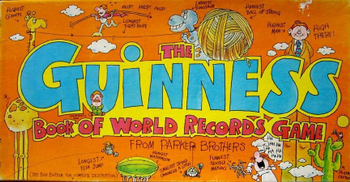 The Guinness Book of World Records Game board game