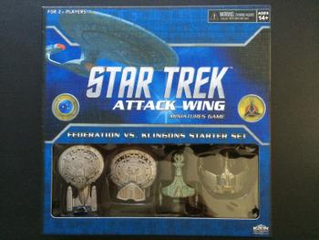 Star Trek: Attack Wing – Federation vs. Klingons Starter Set board game