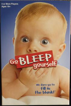Go BLEEP yourself board game
