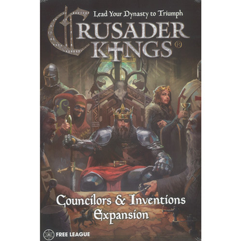 Crusader Kings: Councilors & Inventions Expansion board game
