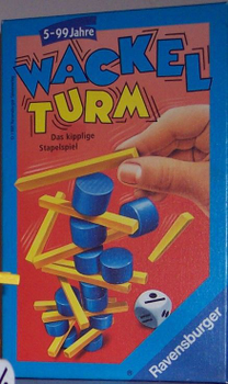 Wackelturm board game