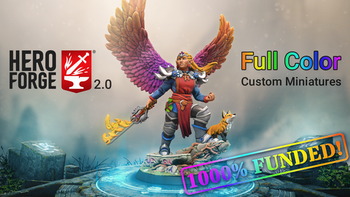 Full-Color Custom Miniatures with Hero Forge 2.0