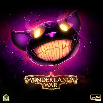 Wonderland's War board game