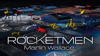 Rocketmen board game