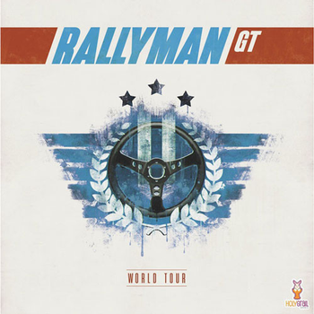 Rallyman: GT - World Tour board game