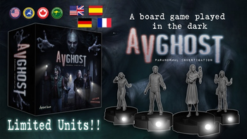 AVGhost Paranormal Investigation (limited units) board game