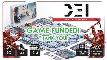 D.E.I. - Divide et Impera board game